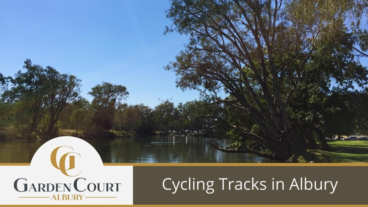 Cycling Tracks in Albury - Garden Court Motel Albury Accommodation