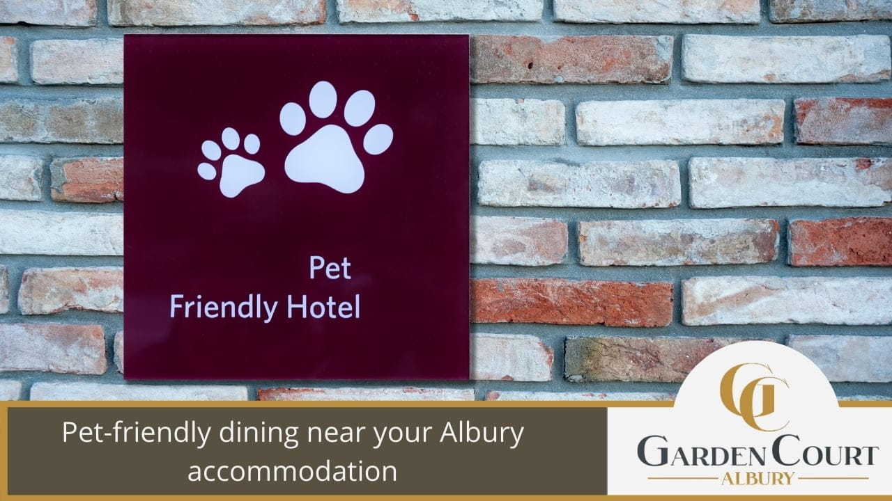 Pet-friendly dining near your Albury accommodation