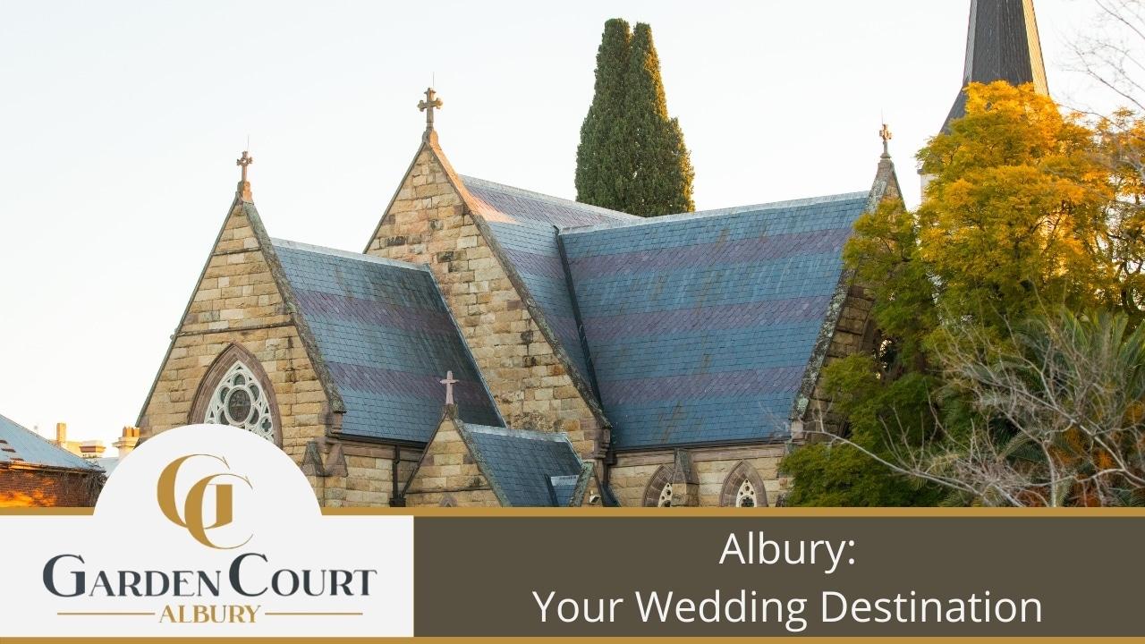 Albury Your Wedding Destination - Garden Court Motel Albury Accommodation