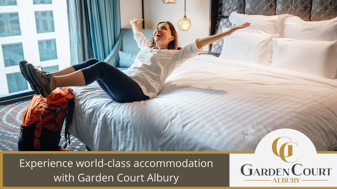 Experience world-class accommodation with Garden Court Albury
