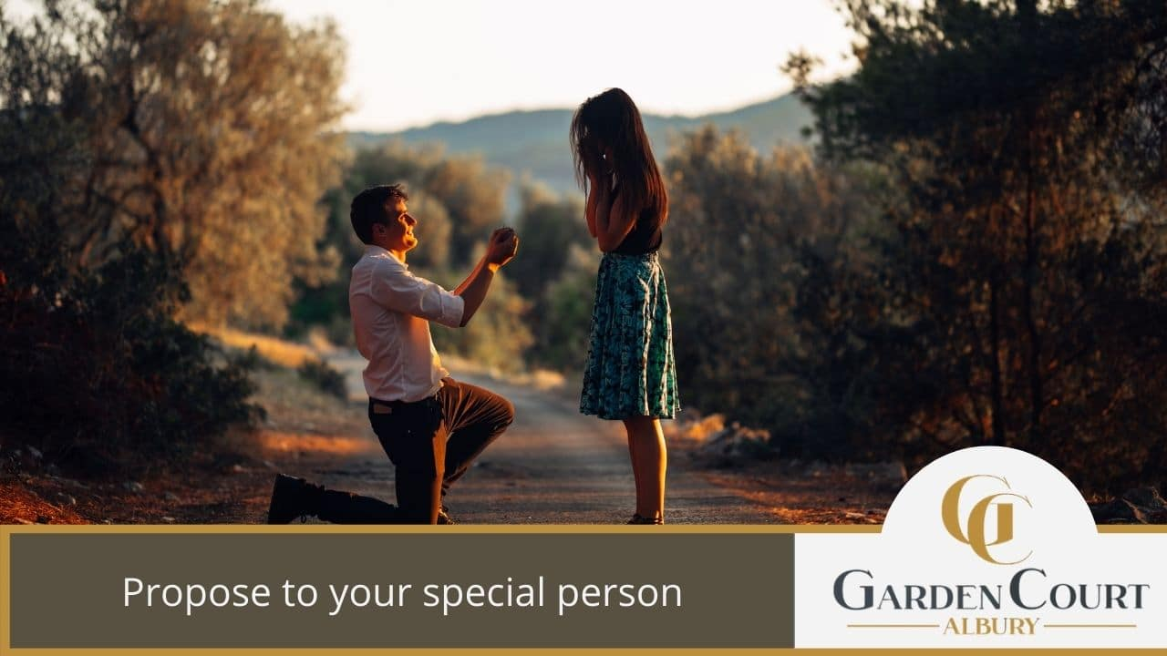 Propose to your special person