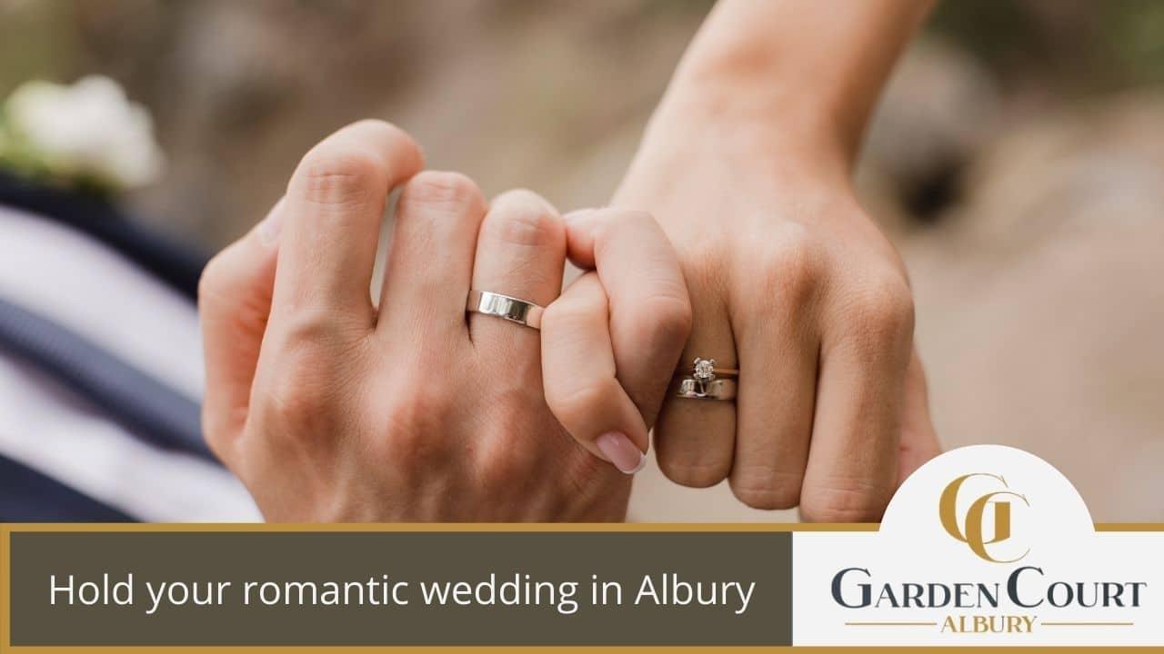 Hold your romantic wedding in Albury