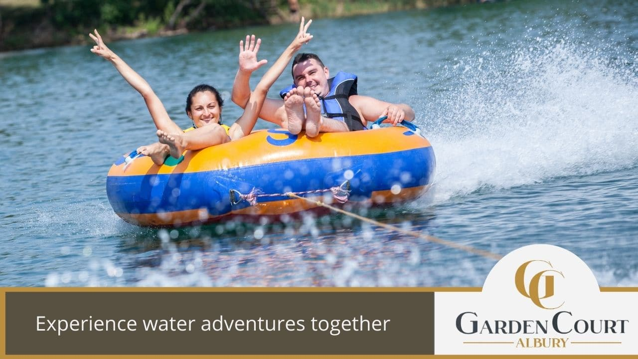 Experience water adventures together
