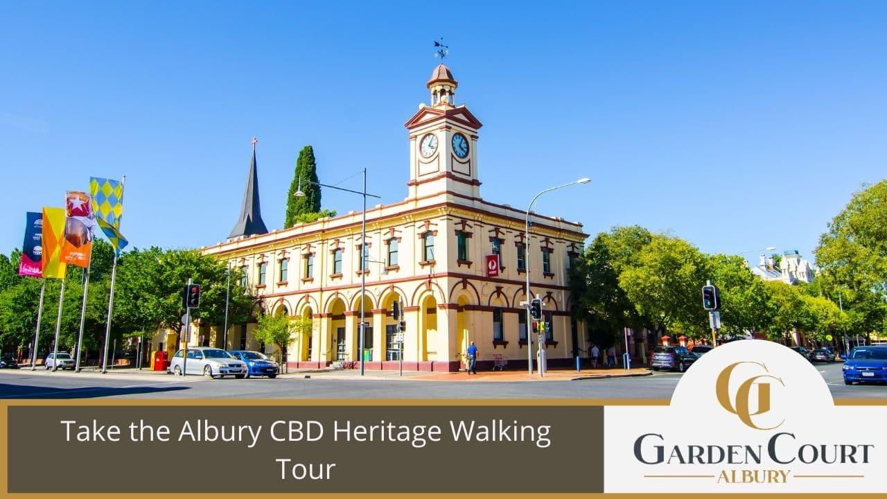 Take the Albury CBD Heritage Walking Tour