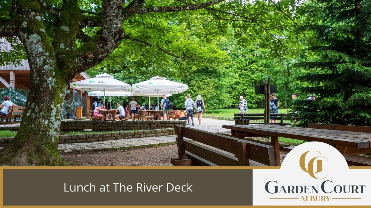 Lunch at The River Deck