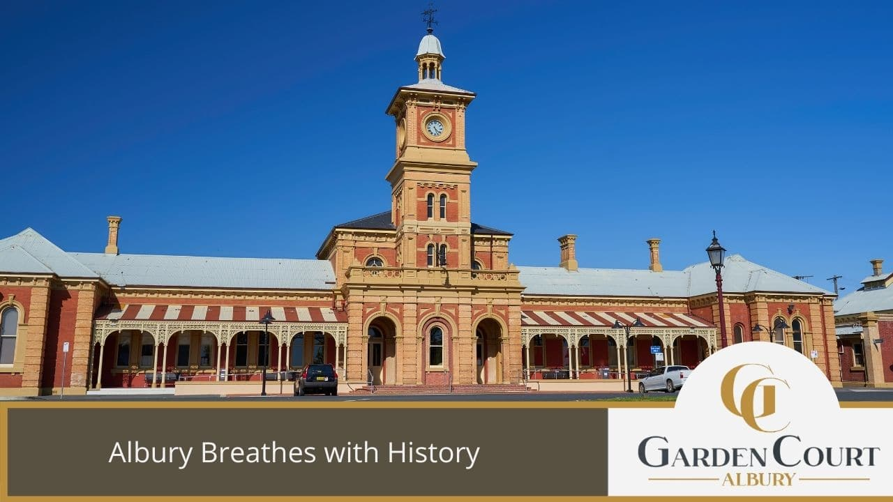 Albury Breathes with History